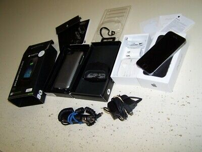 Apple iphone 5S Works Perfect Verizon Unlocked w Mophie Battery Pack Charger SE