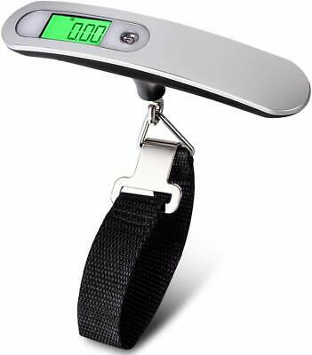 Portable Travel LCD Digital Hanging Luggage Scale Electronic Weight 110lb  50kg