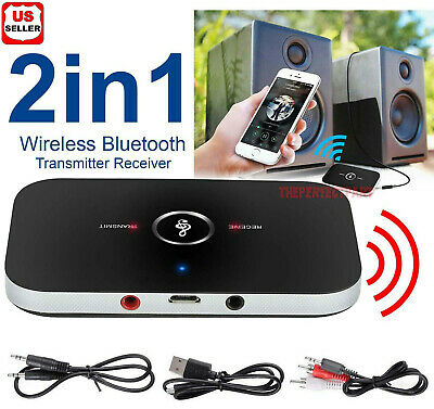 2in1 Bluetooth Transmitter - Receiver Wireless A2DP Home TV Stereo Audio Adapter