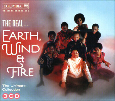 EARTH WIND - FIRE  45 Greatest Hits  NEW 3-CD Boxset  All Original Versions