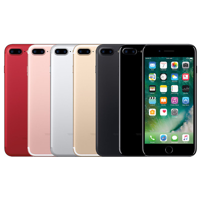 Apple iPhone 7 Plus 32GB 128GB 256GB AT-T Sprint Verizon T-Mobile GSM Unlocked