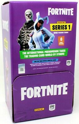 2019 Panini FORTNITE Series 1 Trading Cards 36 Pack Display Box 216 Total Cards