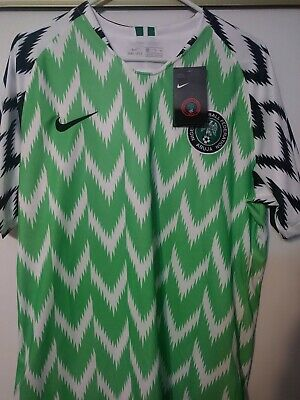 Nike Mens Nigeria Home Jersey Size XLarge World Cup 2018 Kit