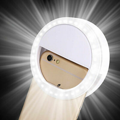 Selfie Flash LED Phone Camera Photography Ring Fill UP Light For iPhone Android
