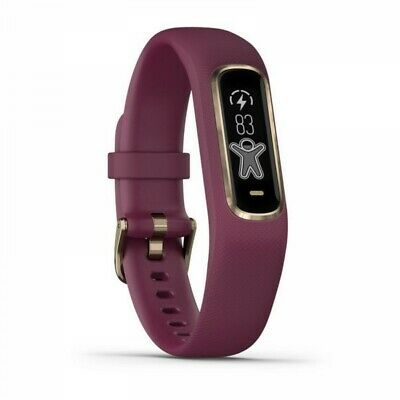 Garmin vivosmart 4 Berry with Light Gold Hardware SmallMedium Size 010-01995-01