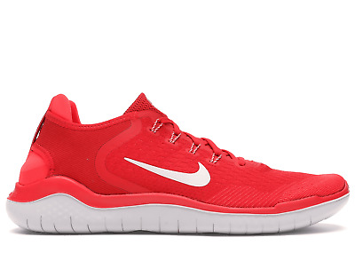 NIKE FREE RN 2018 MENS SPEED RED RUNNING SHOES 942836-600