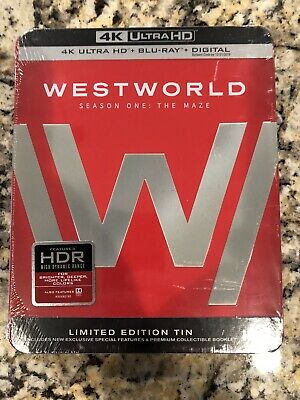 Westworld The Complete First Season 4K Ultra HD Blu-ray 2017-  No Digital Code