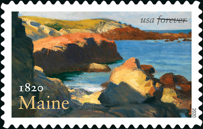5456 2020 Maine Statehood Single Ships after march 15 2020 - MNH