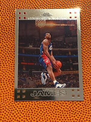 LEBRON JAMES - 2008-09 Topps Chrome 23 - CLEVELAND - LAKERS - HOT