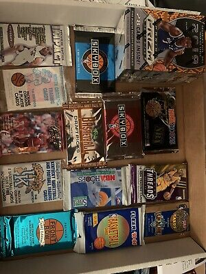 LOT OF UNOPENED Basketball PACKS UNOPENED BASKETBALL CARDS Sealed NBA  Read