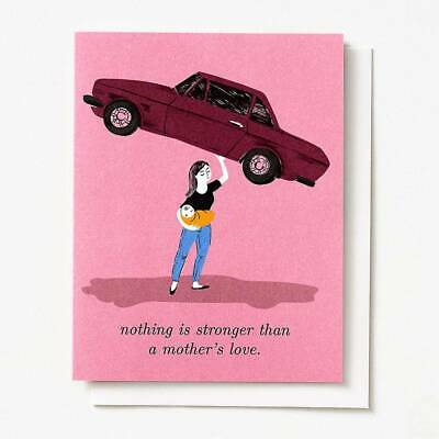 Paper Source Mothers Day Card - Nothing is Stronger than a Mothers Love