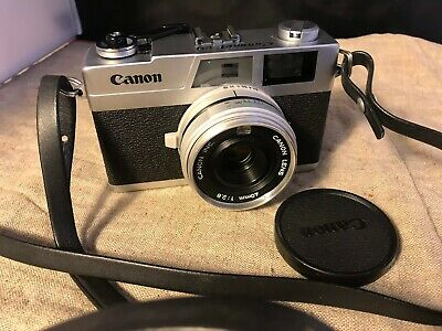 Canon Canonet 28 Ananlog film Camera 35mm Rangefinder Film Camera