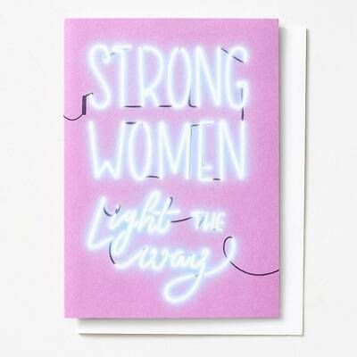Paper Source Mothers Day Card - STRONG WOMEN LIGHT THE WAY