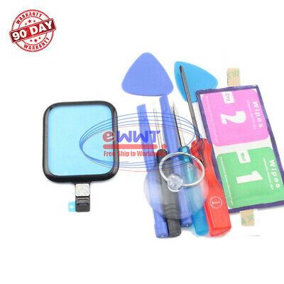 FREE SHIP for Apple Watch Series5 44mm Black Touch Screen Digitizer-Tool ZVLU876