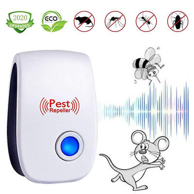 Pro Ultrasonic Pest Reject Home Control Electronic Repellent Mice Rat Repeller