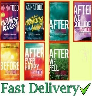 After Serie Complete Set Book 1-7 by Anna Todd ✅
