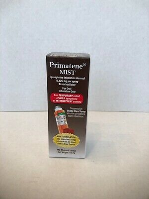 Primatene Mist inhalation Aerosol  Relief 160 Sprays exp 122021