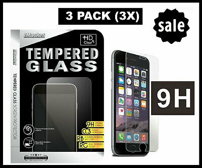 3 Pack Tempered Glass Screen Protector for Samsung Galaxy Note 4 Note 5 S6 S7