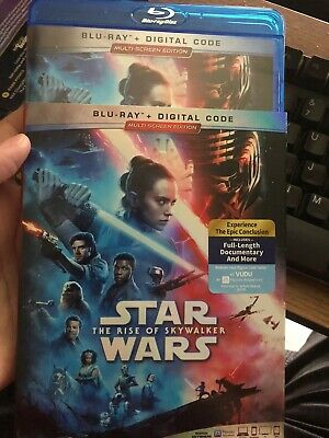 Star Wars The Rise of Skywalker 2-disc Blu-Ray with slipcover Free Ship