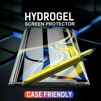 HYDROGEL Screen Protector For Galaxy Note 8  9 10- S8 S9 S10 S20 Ultra Plus 5G