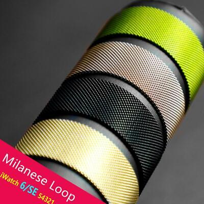 Milanese Loop Magnetic Band For Apple Watch 38404244mm Series 123456SE