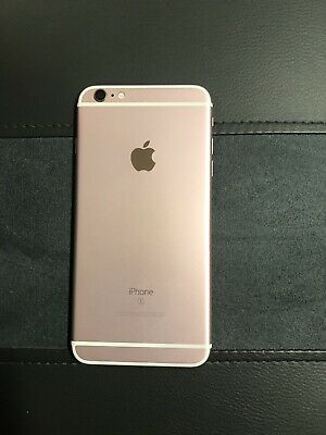 Apple iPhone 6 Plus rose gold 32gb used At-t Blocked