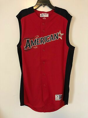 2019 MLB All Star Game Majestic AMERICAN League Baseball Jersey Vest 44 LARGE