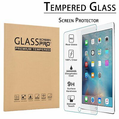 Clear Tempered Glass Screen Protector for Apple iPad 2 3 4 A1395 A1416 A1458 US