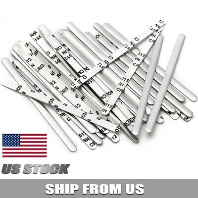 Aluminum Strip Adhesive Nose Wires Bridge Bracket DIY Strip Bendable Twist Ties
