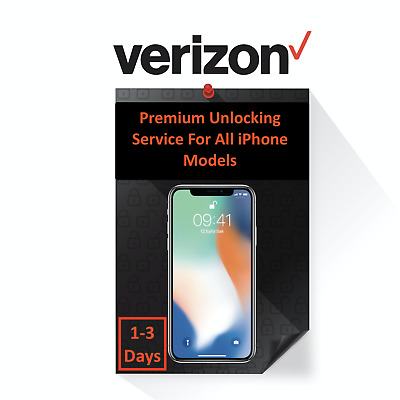 VERIZON PREMIUM UNLOCK SERVICE FOR IPHONE 12 11  11 PRO MAX  XS  XR  X  8