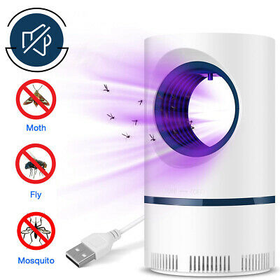 Electric Mosquito Insect Killer Zapper UV Light Fly Bug Trap Pest Control Lamp