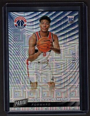 2019 Panini Cyber Monday Rui Hachimura parallel 0810 jersey number