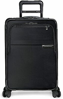 Briggs - Riley Baseline CX Expandable Carry-On Spinner Luggage Black 598