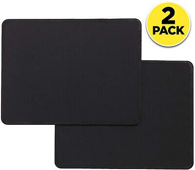 2-Pack Non-Slip Mouse Pad Stitched Edge PC Laptop For Computer PC Gaming Rubber