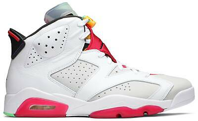 Nike Air Jordan 6 Retro Hare White Red Green 2020 Authentic Mens CT8529-062