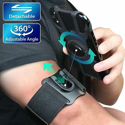 Detachable - 360 Sports Armband Running Phone Holder for iPhone 11 Pro Max XR XS