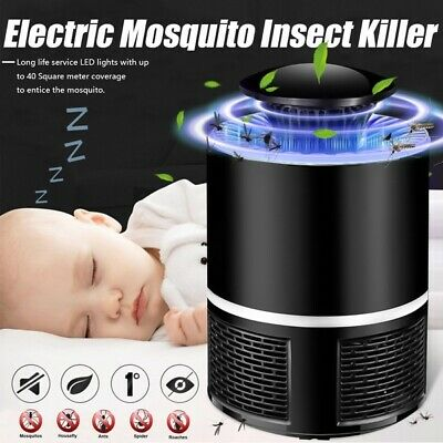 Electric Mosquito Fly Bug Zapper Insect Killer Trap UV Light Lamp Pest Control