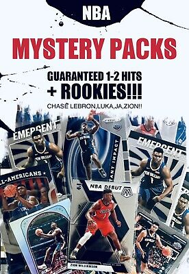 NBA BASKETBALL CARDS LOT MYSTERY PACKS HOT PACK🔥1-2 HITS A PACK REPACK JAZION