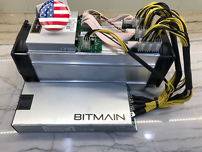 Bitmain Antminer S9 13-5THs ASIC Miner - PSU Good Working Condition IN BOX USA