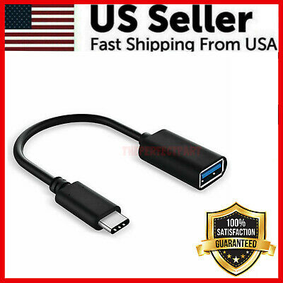 USB-C 3-1 Type C Male to USB 3-0 Type A Female OTG Adapter Converter Cable Cord