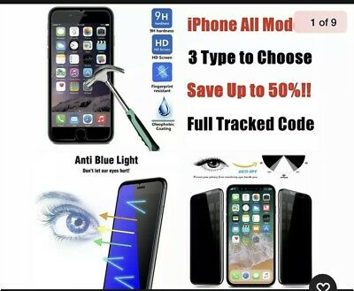 For Apple iPhone 55SSE5C Tempered Glass Screen Protector USA shipped