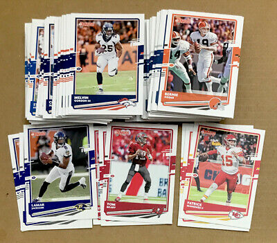 2020 Panini Donruss NFL Football Base Card Stars Veterans Only 1-250 You Pick
