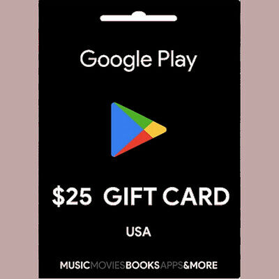 New Gift cart Google play 10 or 30 Email Delivery After 4 Hours