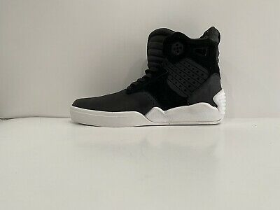 SUPRA SKYTOP IV Menssize 9-0 BLACk WHITE MEN SHOES New With Defects