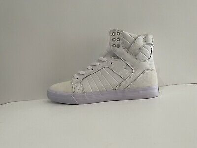 SUPRA SKYTOP MENS SHOES SIZE 10-5 White New With Defects