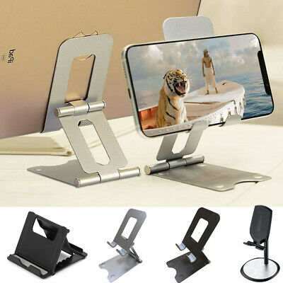 Adjustable Cell Phone Tablet Stand Desktop Holder Mount Mobile Phone iPad iPhone