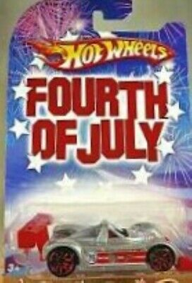 Hot Wheels Riley - Scott  MK III  Fourth of July Series New on card rare