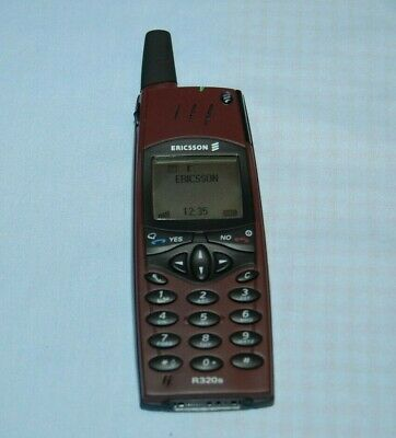Ericsson R320s Red Rock Dummy  Display Phone Boxed