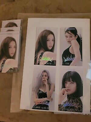 Blackpink The Album YG Select Pre-order Benefit Photocards