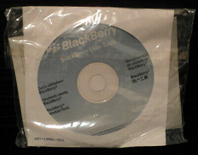 Blackberry 8830 User Tools CD - Book
